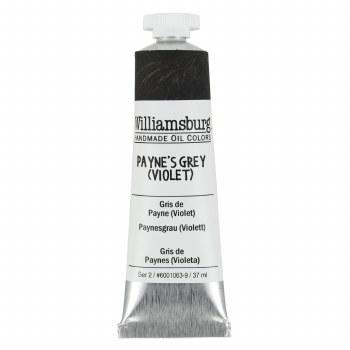 Williamsburg Oil Colors, 37ml, Paynes Gray (Violet)
