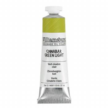 Williamsburg Oil Colors, 37ml, Cinnabar Green Light