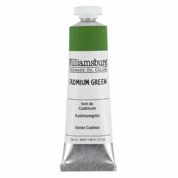 Williamsburg Oil Colors, 37ml, Cadmium Green