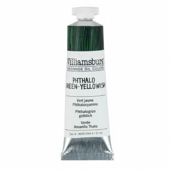 Williamsburg Oil Colors, 37ml, Phthalo Green-Yellowish