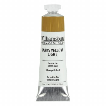Williamsburg Oil Colors, 37ml, Mars Yellow Light