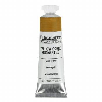 Williamsburg Oil Colors, 37ml, Yellow Ochre (Domestic)