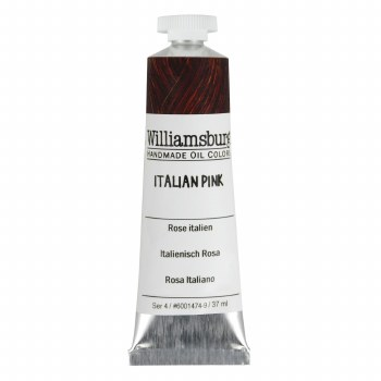 Williamsburg Oil Colors, 37ml, Italian Pink