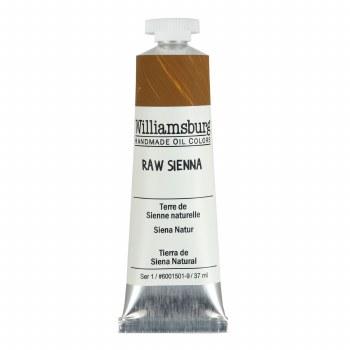 Williamsburg Oil Colors, 37ml, Raw Sienna
