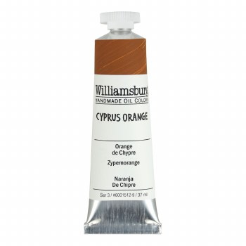 Williamsburg Oil Colors, 37ml, Cyprus Orange