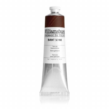 Williamsburg Oil Colors, 150ml, Burnt Sienna