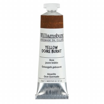 Williamsburg Oil Colors, 37ml, Yellow Ochre Burnt