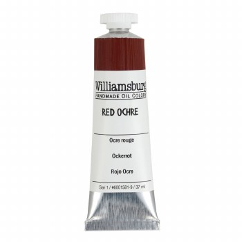 Williamsburg Oil Colors, 37ml, Red Ochre