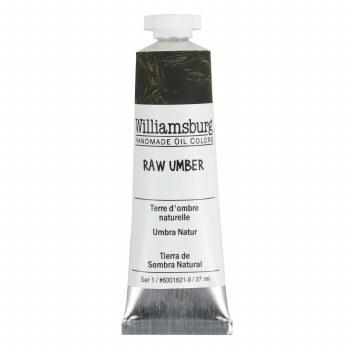 Williamsburg Oil Colors, 37ml, Raw Umber