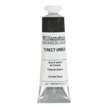 Williamsburg Oil Colors, 37ml, Turkey Umber