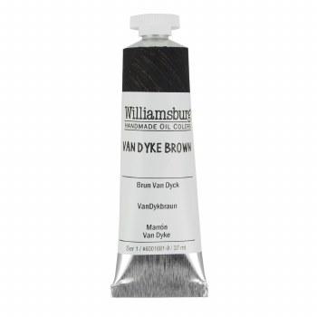Williamsburg Oil Colors, 37ml, Van Dyke Brown