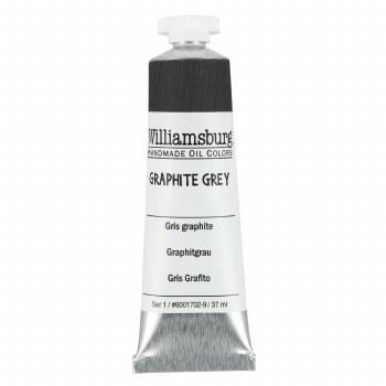 Williamsburg Oil Colors, 37ml, Graphite Gray