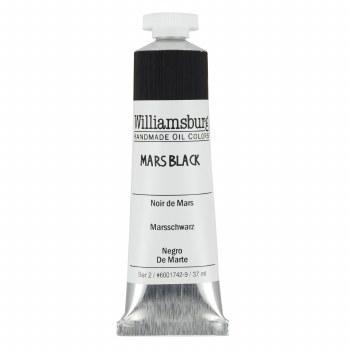 Williamsburg Oil Colors, 37ml, Mars Black