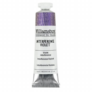 Williamsburg Oil Colors, 37ml, Interference Violet