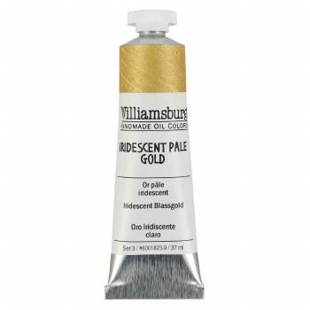 Williamsburg Oil Colors, 37ml, Iridescent Pale Gold