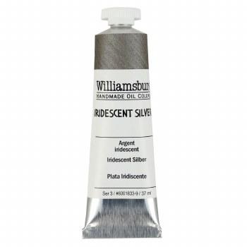 Williamsburg Oil Colors, 37ml, Iridescent Silver