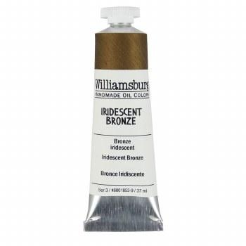 Williamsburg Oil Colors, 37ml, Iridescent Bronze