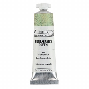 Williamsburg Oil Colors, 37ml, Interference Green