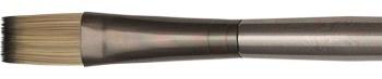 Zen Series 53 Synthetic Oil & Acrylic Long Handle Brushes, Flats, 6