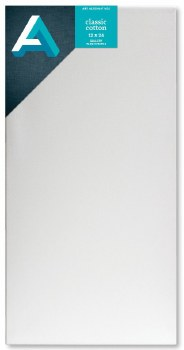 Stretched Gallery Canvas, 1-3/8 in. Profile, 12 in. x 24 in.