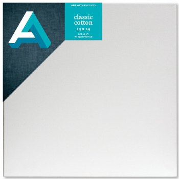 Stretched Gallery Canvas, 1-3/8 in. Profile, 14 in. x 14 in.