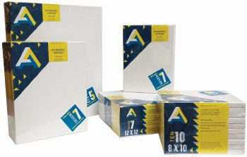 Economy Canvas Value Packs, 9 in. x 12 - 7/Pkg.