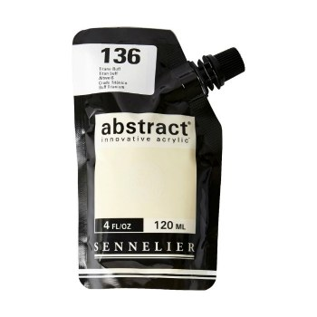 Abstract Acrylics, Satin, Titanium Buff - Pouch Bag