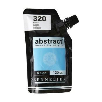 Abstract Acrylics, Azure Blue, Satin