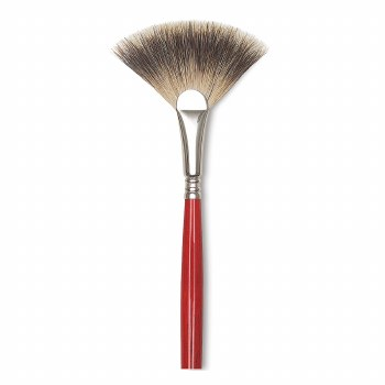 Escoda Arco Badger Brushes, Fan, 2