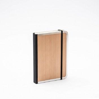"Bindewerk Cherry Wood Journal, 5.5"" x 8"" - Blank"