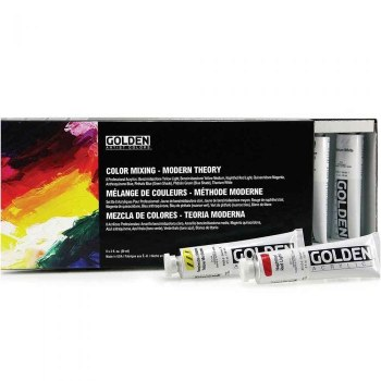 OPEN Slow-Drying Acrylics Color Mixing Modern Theory Set
