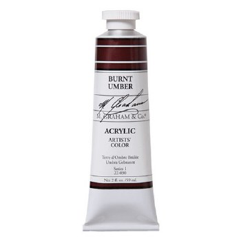 M. Graham Acrylic Burnt Umber 150ml