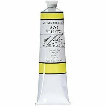 M. Graham Oil, Azo Yellow, 150ml