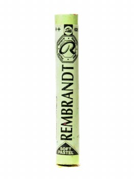 Rembrandt Artists Pastels, Chrome Green Light CN.T 626.10