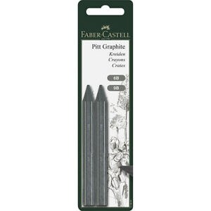 PITT Graphite Crayons, 2-Crayon Set - 6B & 9B