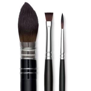 Raphael Soft Aqua Brushes, Rounds, 14
