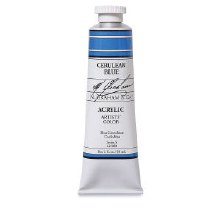 M. Graham Acrylic, 150ml, Cerulean Blue