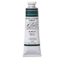 M. Graham Acrylic, 150ml, Phthalo Green