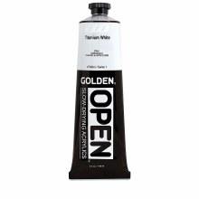 Golden OPEN Acrylics, 5 oz, Titanium White