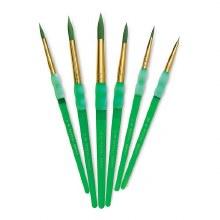 Royal Langnickel Big Kids Brush Green Round 10