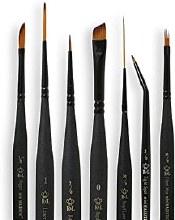 Mini Majestic Brushes, Angular Shaders, 12/0