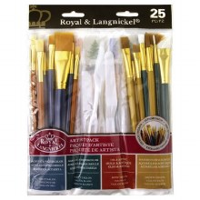 Royal Langnickel Super Value Variety Brush Pack of 25