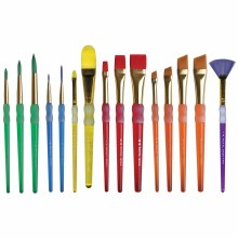 Royal Langnickel Big Kids Choice Lil Gripper Brush Set - 15 Brushes