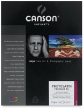 Canson Infinity PhotoSatin Premium RC 270 Photo Paper, 8.5 in. x 11 in., 25 Shts./Pkg. - 270 gsm