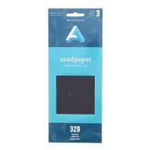 Sandpaper Sheets, Multi Pack