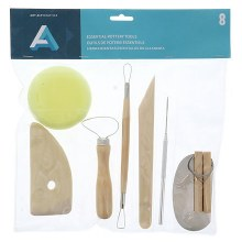Pottery Tool Kit, 8 Pieces