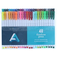 Fineline Pen Sets, 12-Color Set