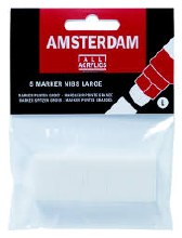 Acrylic Marker Nibs, Large - Square, 5/Pkg.