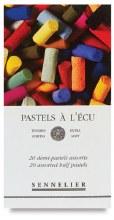 Sennelier Half Stick Soft Pastel Sets, 20-Color Set