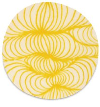 Designer Liner, Yellow, for clay,bisque or over glazes